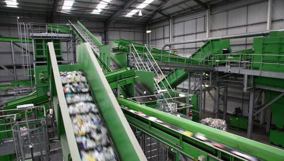 Sorting Plant for PET and HDPE bottles