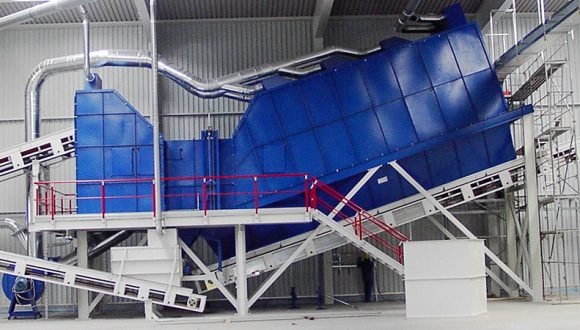 air separator wind sifter