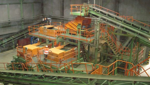 bottom ash recycling plant and machinery