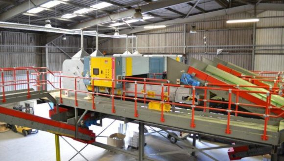 sorting machinery for plastic waste recycling