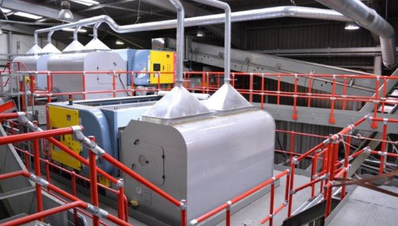 customized sorting plant for plastic waste