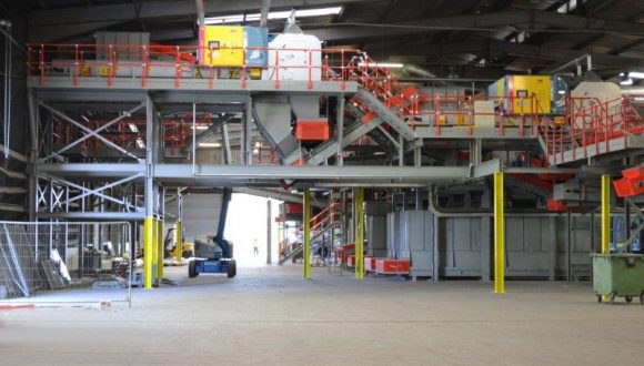 recycling plant for plastics