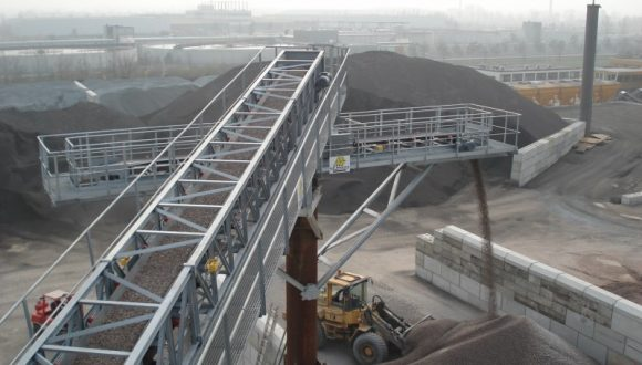 belt conveyor installation