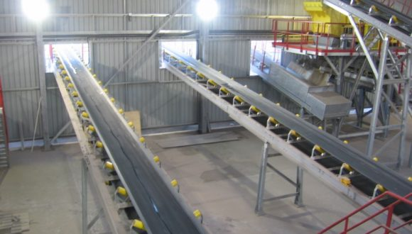 belt conveyor production