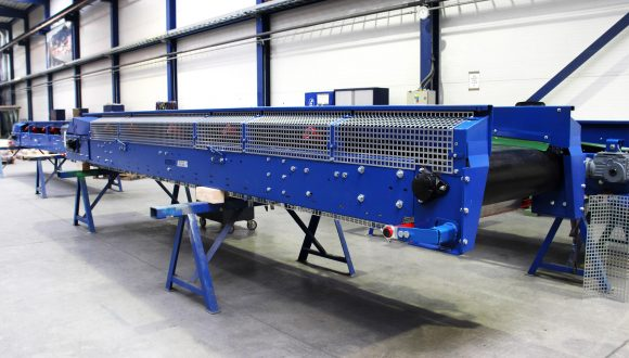 belt conveyor medium - heavy duty construction