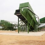 Air separator bulk waste recycling equipment