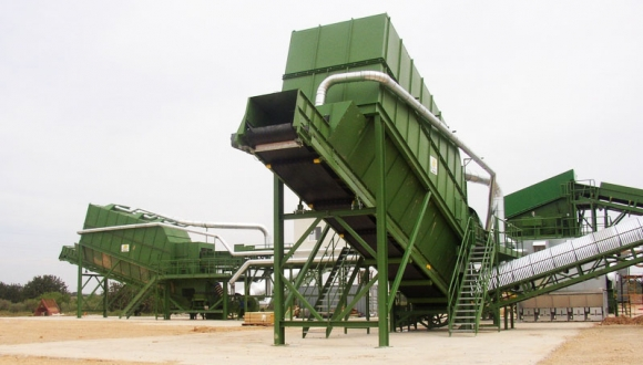 wind sifter bulk waste recycling equipment