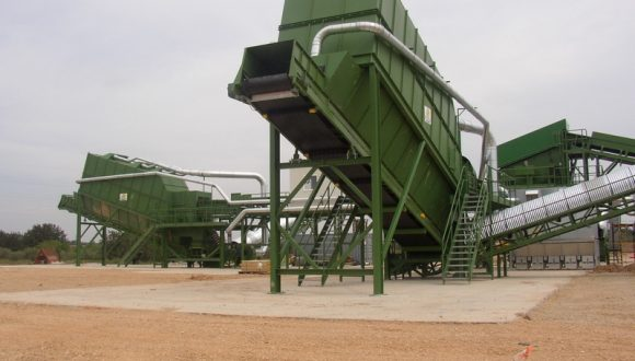 bulk waste sorting equipment