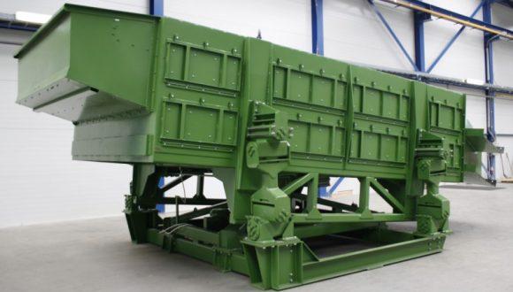équipement mécanique destiné au secteur du recyclage avec pour but de regrouper et trier différents types de déchets