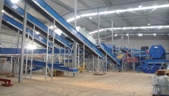 conveyor system commercial and industrial waste