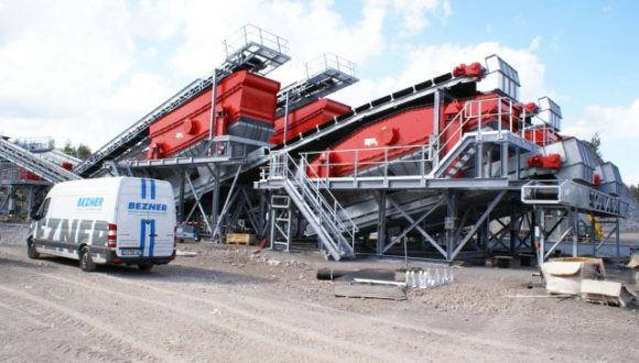 linear vibrating screens demolition waste