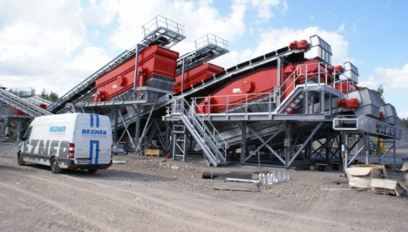 customized demolition waste recycling plant