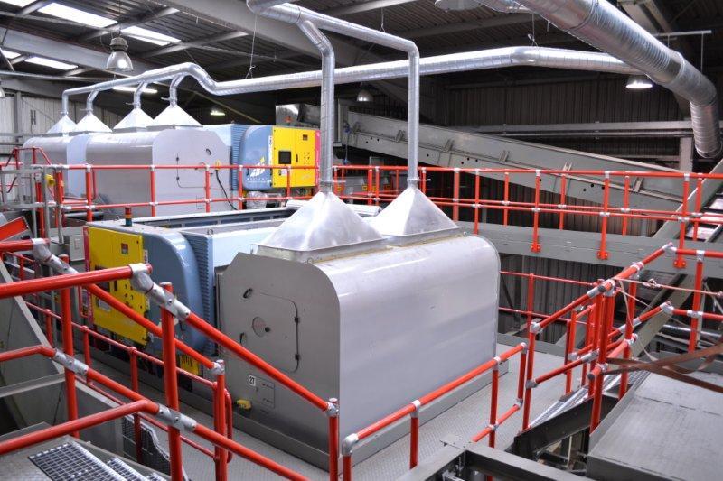 recyclage de déchets mélangés ou combinés