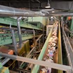 installation de recyclage de déchets mélangés ou combinés