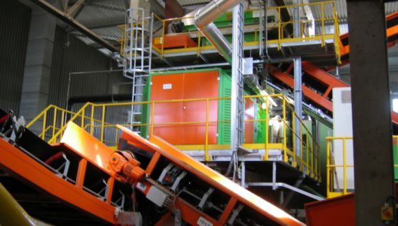 machinery for municipal waste recycling