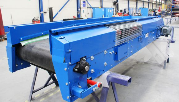 short rubber belt conveyor