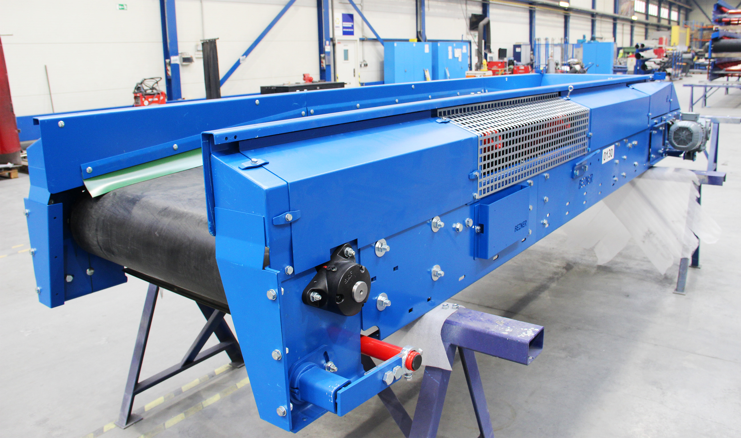 Belt conveyors for MSW installation
