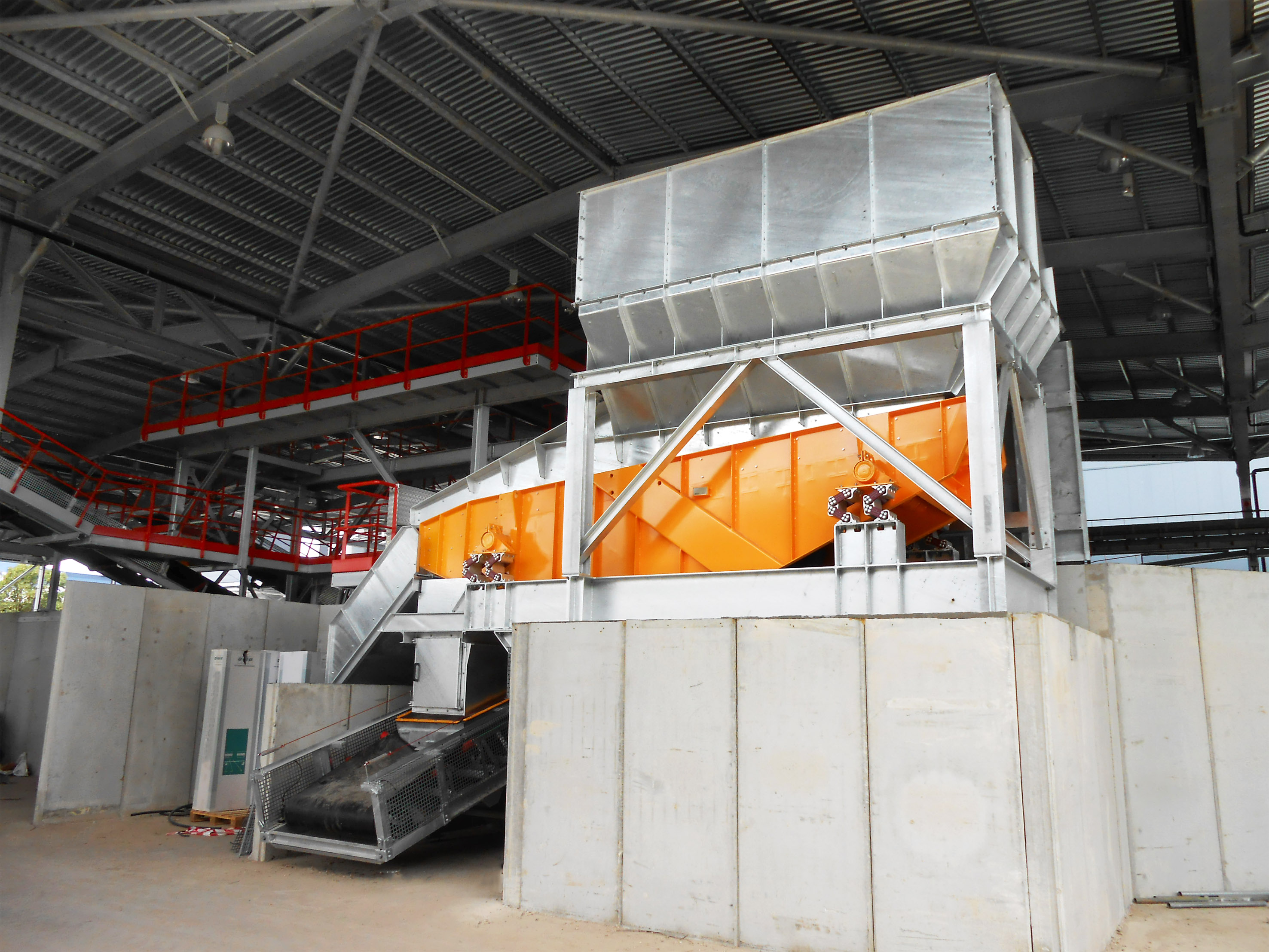vibrating screen for bulk materials
