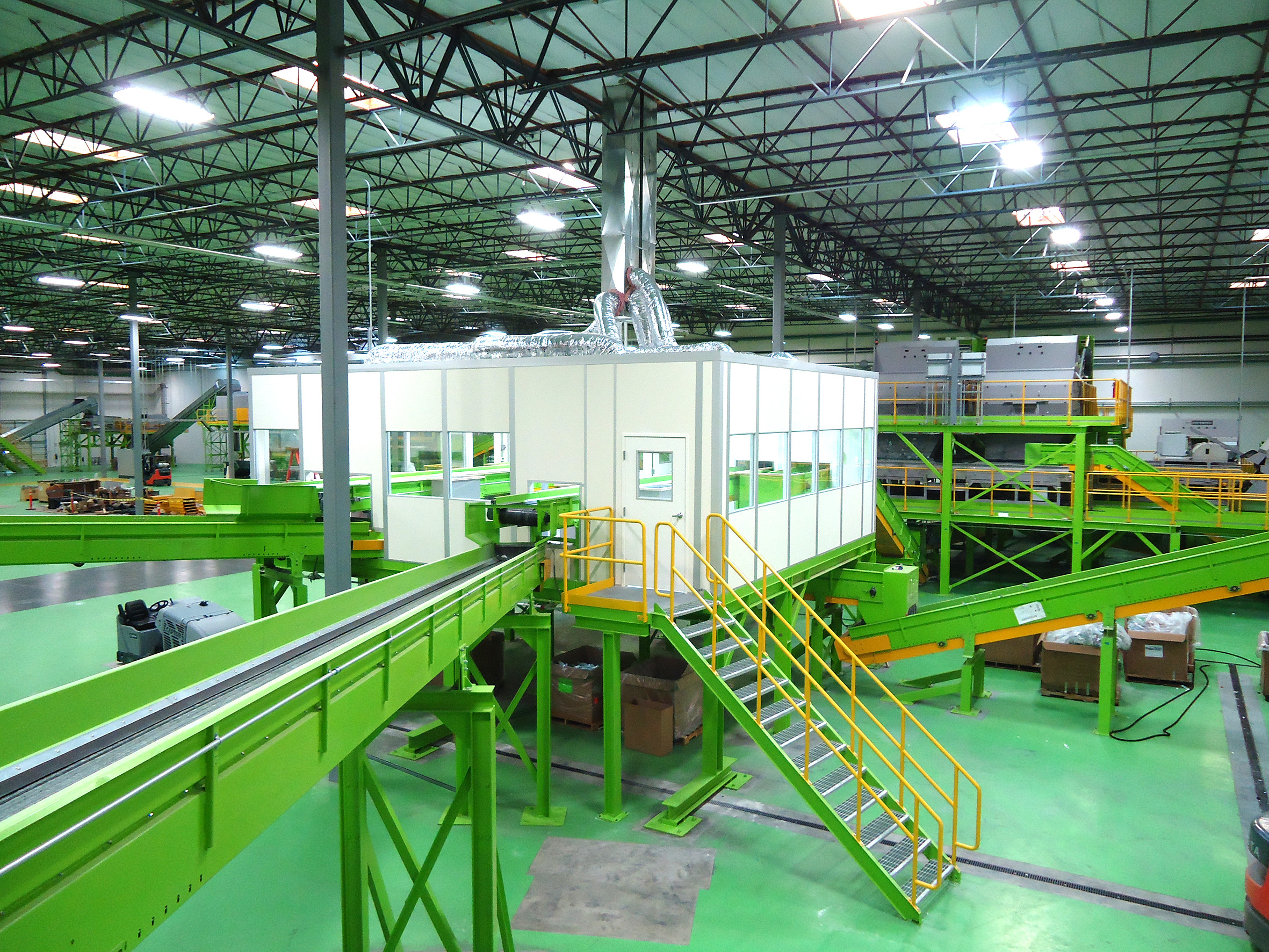 turnkey sorting plant for PET bottles