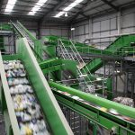chain conveyor Sorting Plant for PET and HDPE bottles