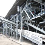 Sorting plant for bottom ash equipment