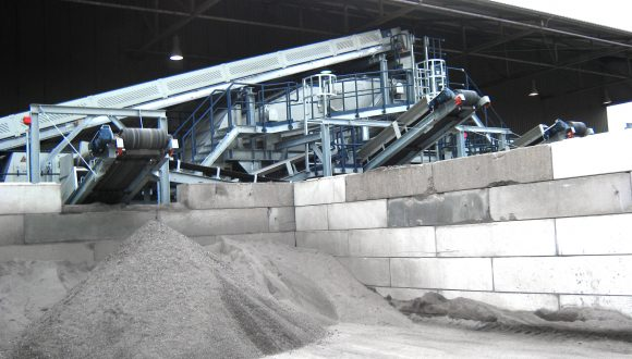 conveyors bottom ash recycling plant