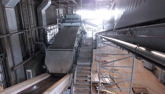 recycling plant for bottom ash Bezner