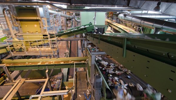 complete plastic recycling plant