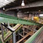 Conveyors Sorting plant for packaging