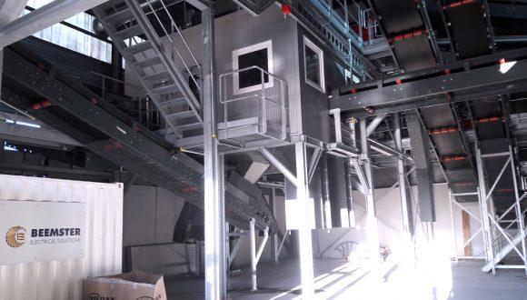 Abfallsortieranlage für Elektronik- und Elektroschrott