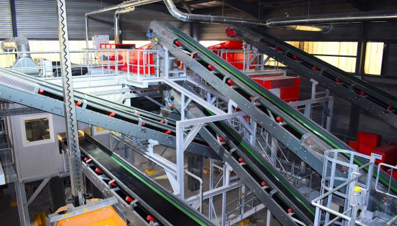 Waste Sorting plant for scrapped Electronic and Electric Waste