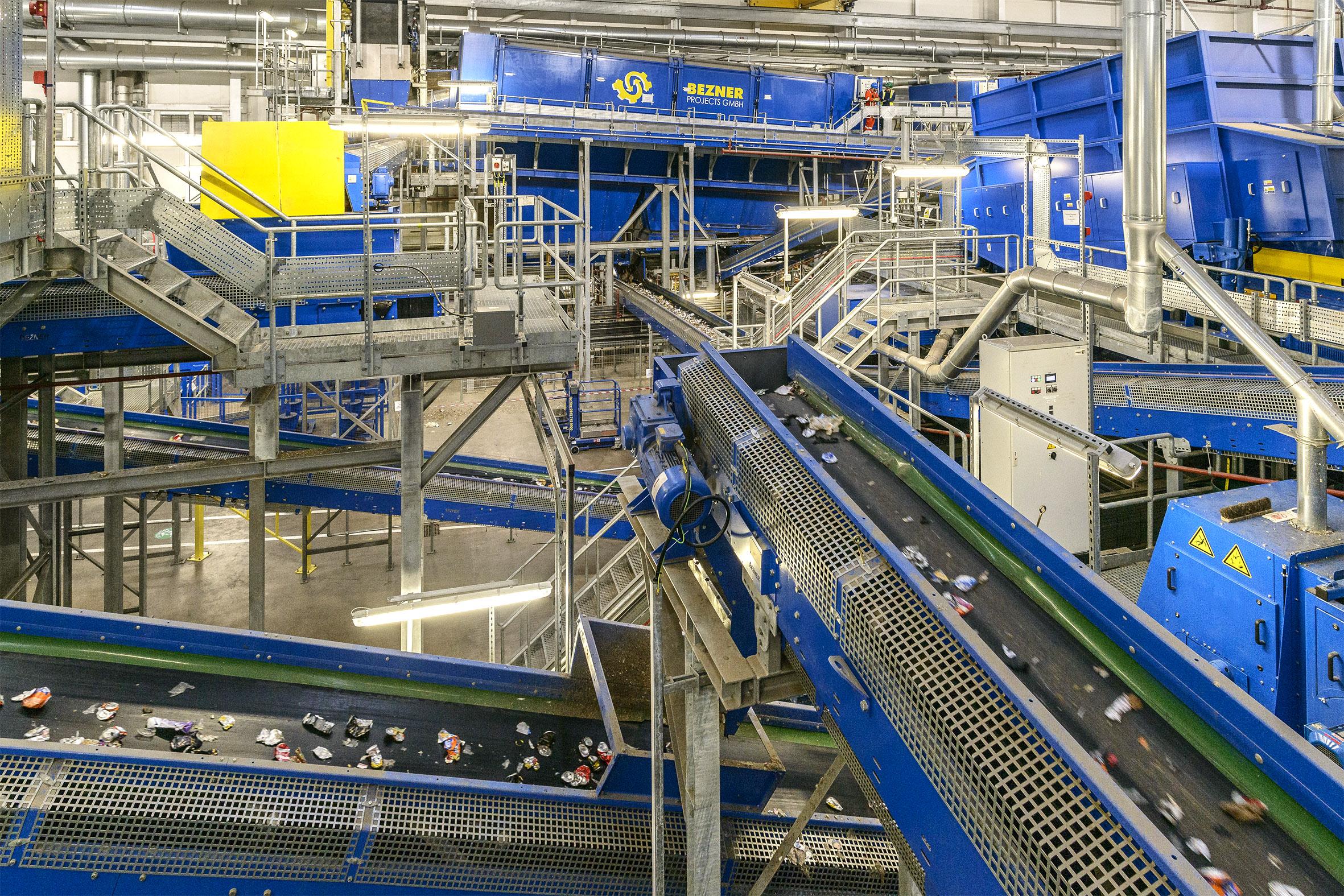 belt conveyors drum screen