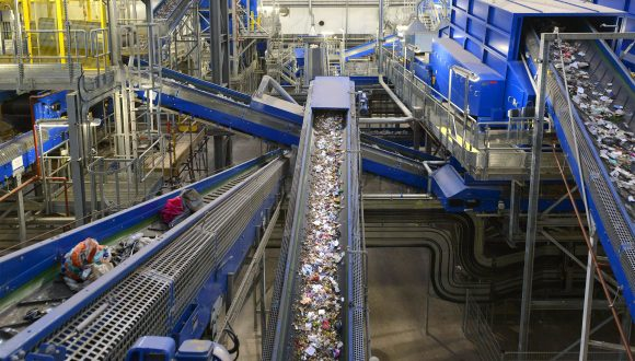 recycling plant from design to commissioning