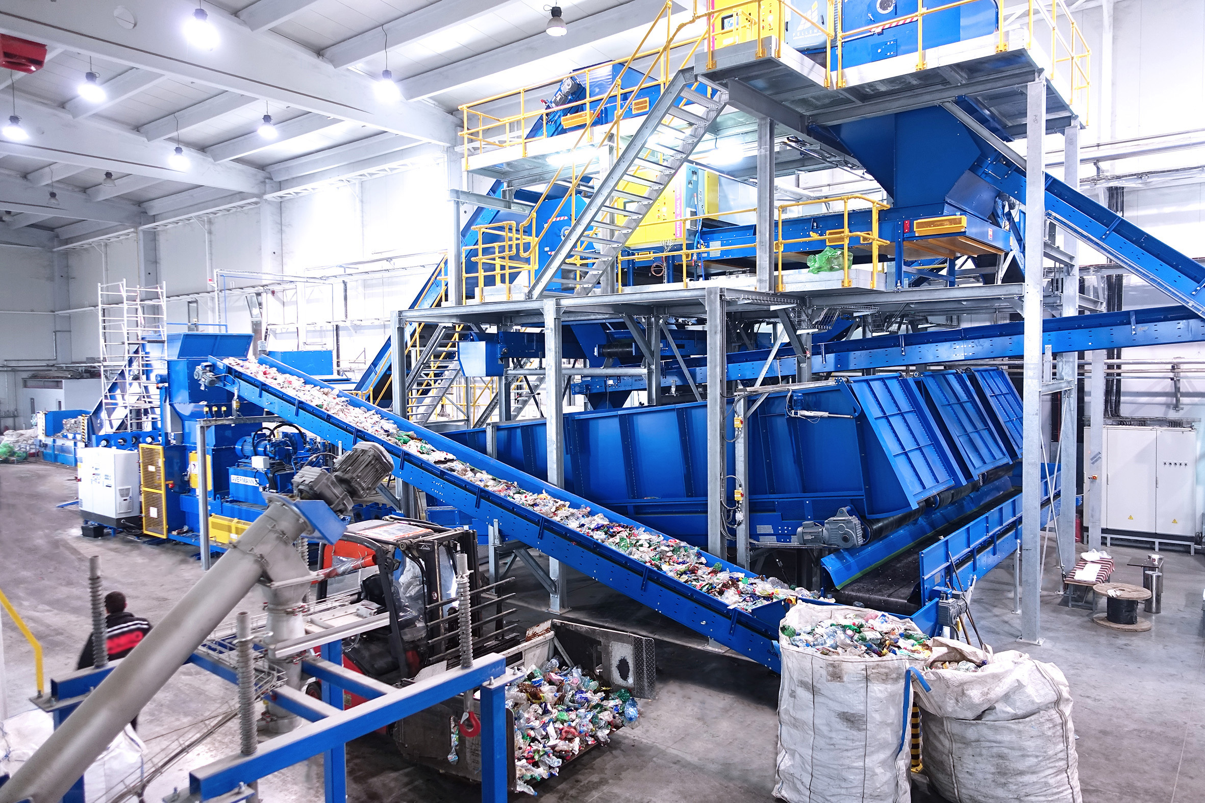 PET Recycling Plant equipment