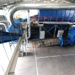 drum screen sorting plant for municipal solid waste