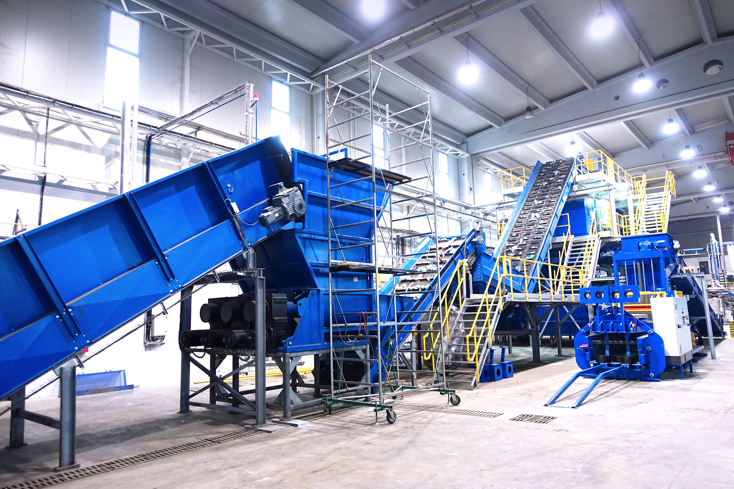 Plastic recycling machines and plants - Bezner