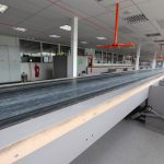 belt conveyor waste processing