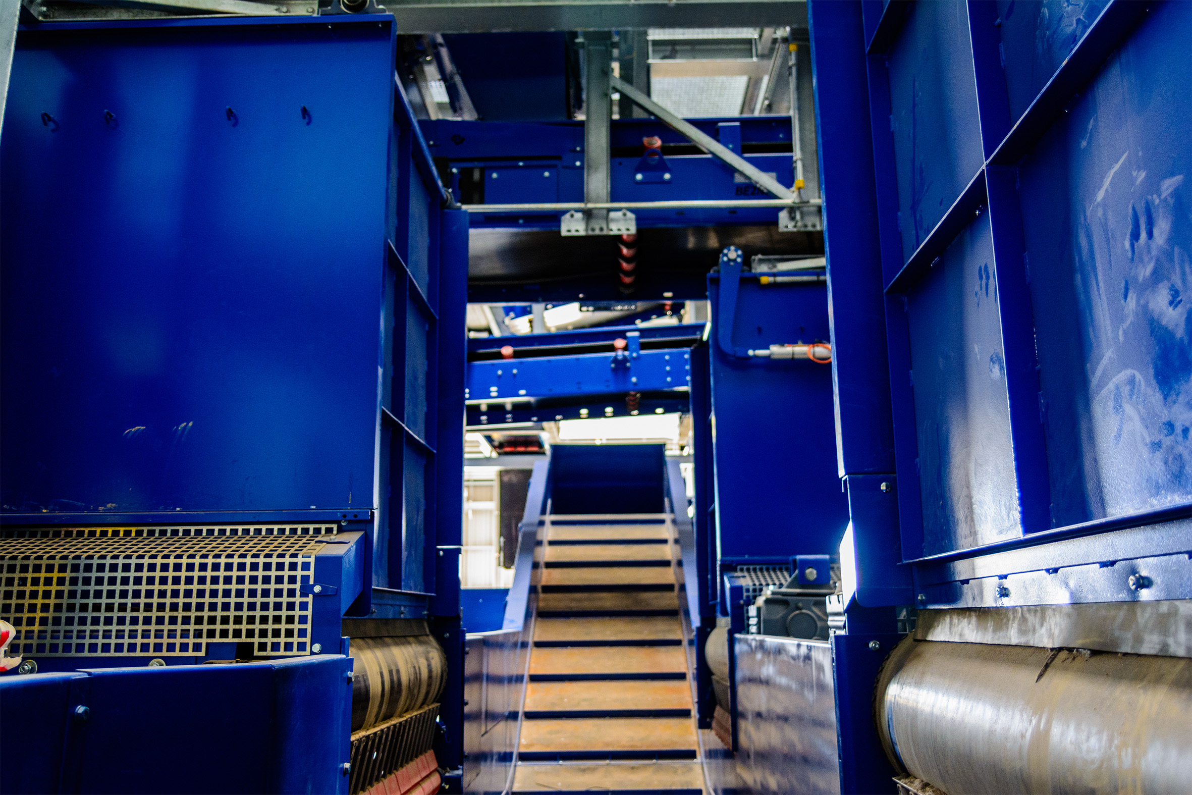 chain conveyor municipal solid waste