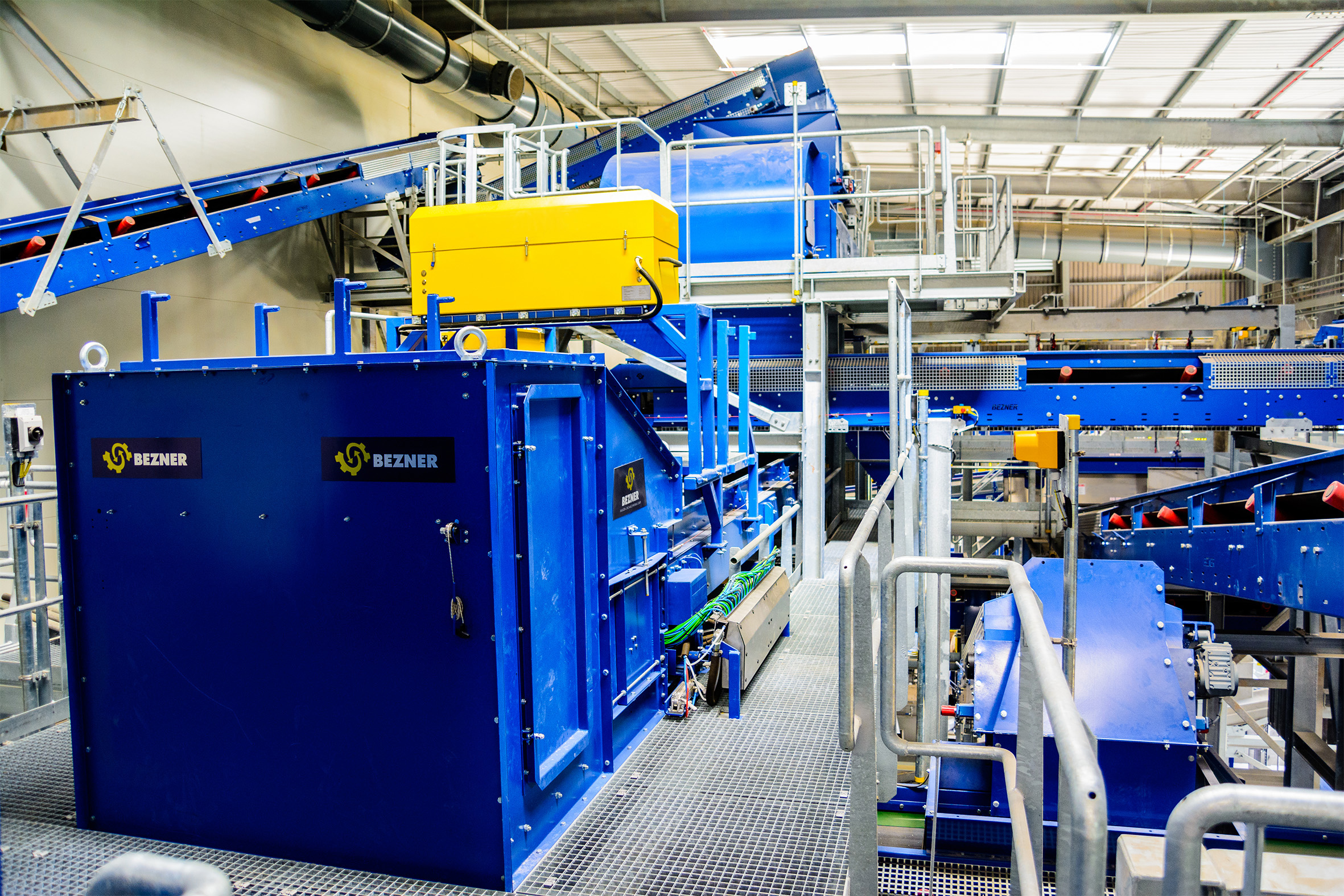 municipal solid waste recycling plant