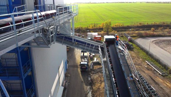 belt conveyors installation