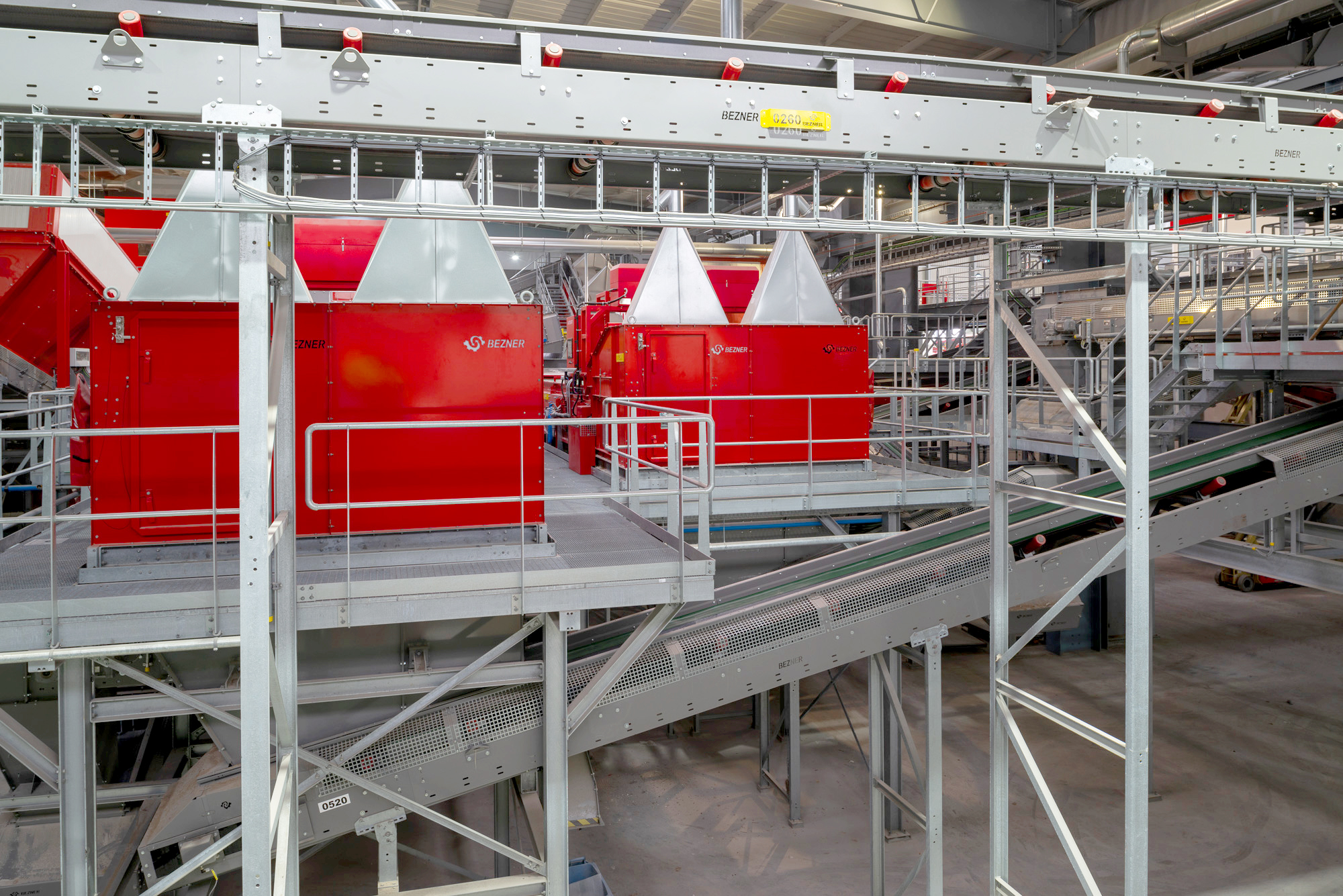 air separators recycling machines