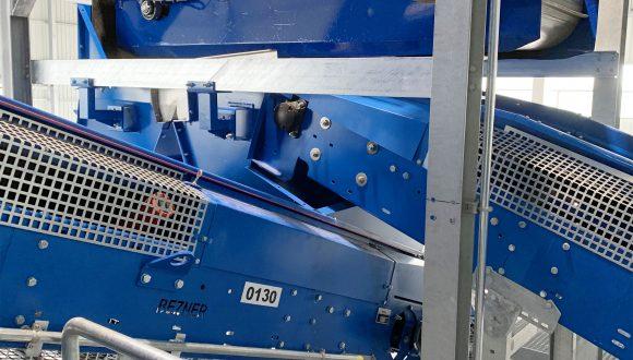 belt conveyors overbelt magnet
