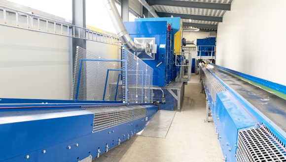 conveyors and optical separator