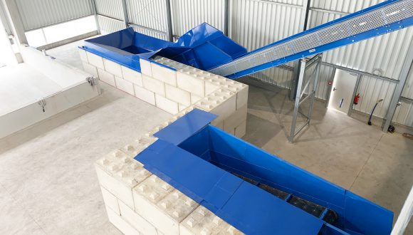 conveyors waste sorting