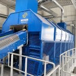 screening drum for commercial waste