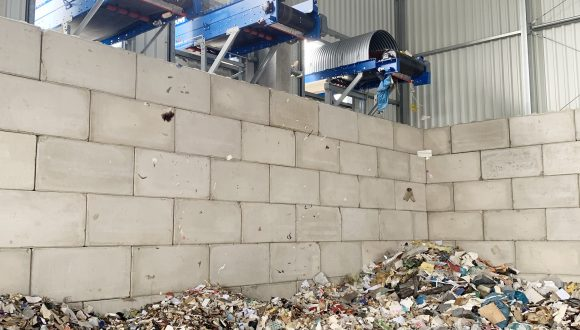 sorting waste conveyors