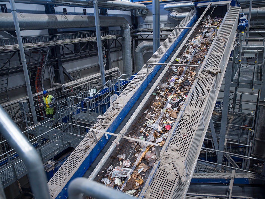 Waste recycling installation | Waste to energy